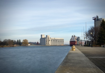 Owen Sound Harbour, taken with SlowShutter Cam. iPhone 6s.