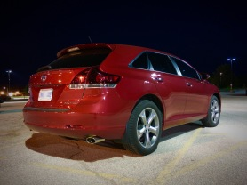 Our Venza taken one night at work, Camera+ which produces no noise at low ISO, iPhone 6s