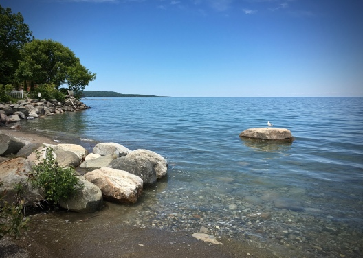 Meaford Shoreline, Camera+, iPhone 6s